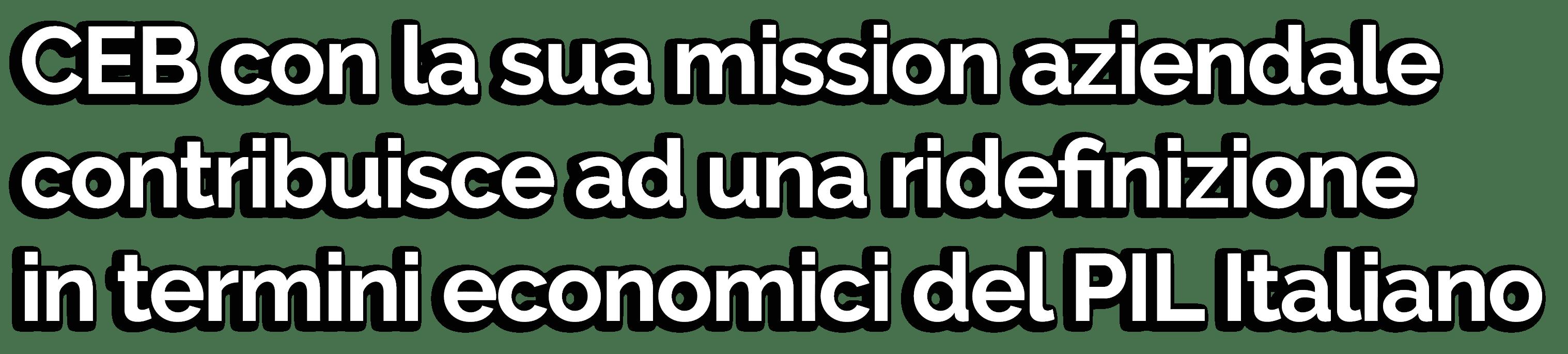 certificazione valutazione economica asset beni intangibili economia pil italia